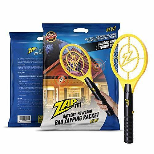 ZAP IT Bug Zapper Battery Powered Mosquito Fly Killer Mini S