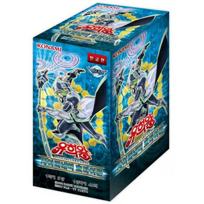 "YUGIOH CARDS  /""PREMIUM PACK NO.3/"" BOOSTER BOX Korean Ver"
