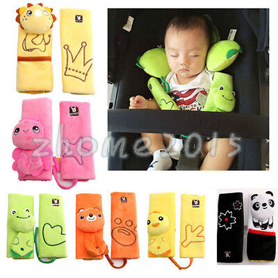 Baby Child Stroller Car Seat Safety Belt Strap Cover Pad Cushion Shoulder Holder