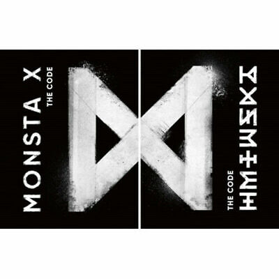 MONSTA X [THE CODE] 5th Mini Album RANDOM CD+FotoBuch+Broschüre+Karte+etc SEALED