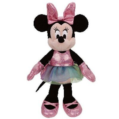 "Ty, Minnie Mouse, Ballerina Sparkle, Plush Medime 13"""