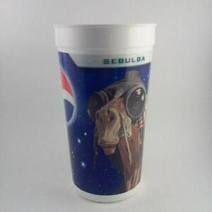 TWO Star Wars Episode 1 - KFC-Pizza Hut-Taco Bell Plastic cups