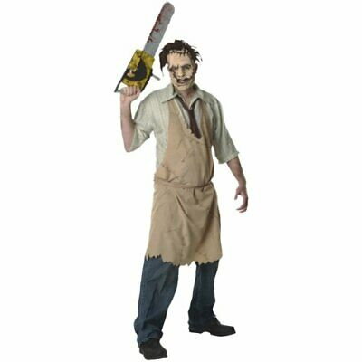 Texas Chainsaw Massacre Costumes (Texas Chainsaw Massacre Leatherface Costume, White,)