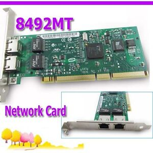 Intel-8492MT-PRO-1000MT-Dual-Port-Server-Server-PCI-PCI-X-Adapter-Network-Card