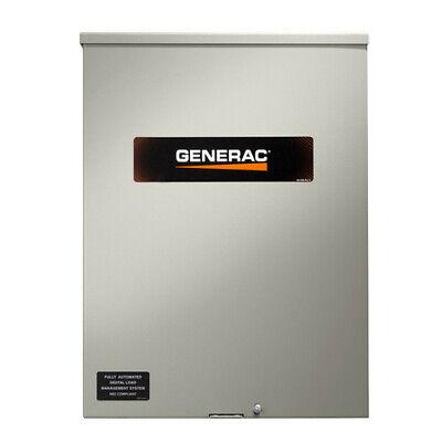 Generac Rtsw100g3 120208v 100 Amp Three Phase Service Rated Transfer Switch