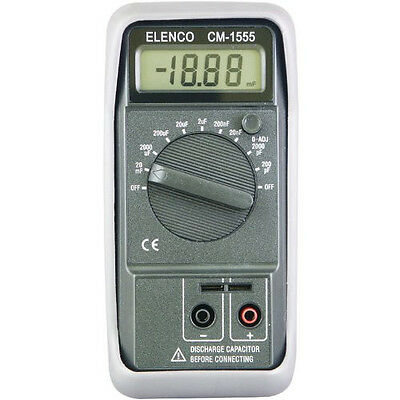 Elenco CM1555 Digital Capacitance Meter