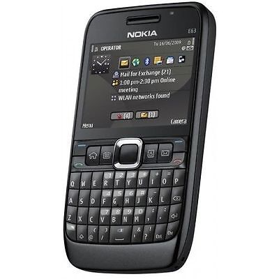 Nokia E63 QWERTY Keypad | Camera Mobile Phone |Black/Red/Ultra Blue+ for sale  DELHI