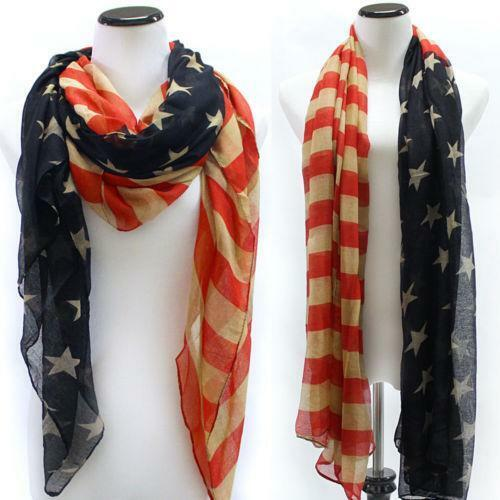 usa scarf clothing shoes accessories ebay
