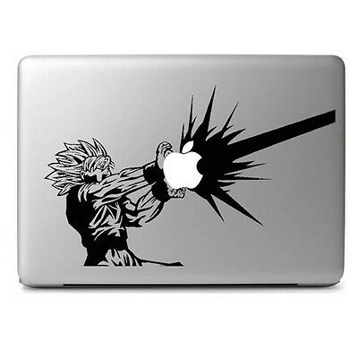 Dragon Goku Anime Cartoon Decal Sticker for Macbook Air & Pro 11 13 15 17 Laptop