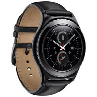 Samsung Gear S2 Classic Smartwatch with Heart Rate Monitor - Blk