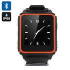 Plastic Band Orange Network Smart Watches