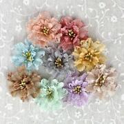 Fabric Flower Embellishments