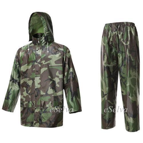 Fishing rain jacket ebay for Rain gear for fishing