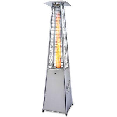 Garden Radiance Stainless Steel Pyramid Outdoor Patio Heater - (Garden Heater)