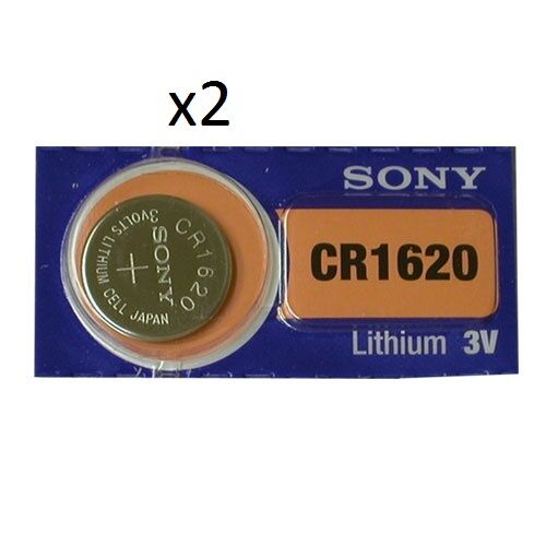Sony - 2 batteries CR1620 Button Battery Lithium - 3V