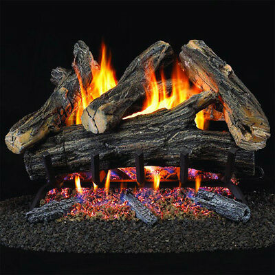 Vented Gas - ProCom Vented Natural Gas Fireplace Log Set - 24 in, 55,000 BTU, Model WAN24N-2