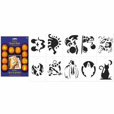 Halloween Pumpkin Carving Stencil Book Party Favor Decoration Brand