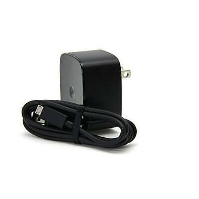 Motorola SPN5864B TurboPower 15 Wall Charger + Original (3.3ft) micro USB -