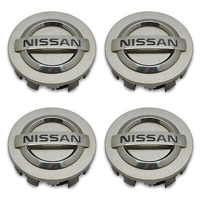 Set 4 OEM Nissan Altima Maxima Murano 350 40342AU510 Hubcap Center Cap