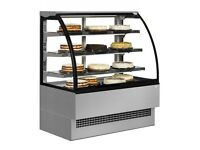 Refrigerated Pastry Fridge and 10pan gelato icecream display unit
