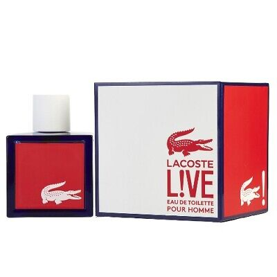 Lacoste Live Pour Homme 3.4 oz EDT Cologne for Men Brand New In Box