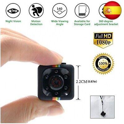 TDC - Camara Espia Mini HD 1080 - Cámara De Vigilancia Compacta Equipada Con