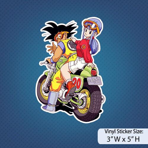 Dragon Ball Z /Goku/ Bulma/Anime/ DBZ / Decal / Sticker