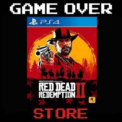 RED DEAD REDEMPTION 2 PS4 PLAYSTATION SONY ITALIANO NUOVO PRE ORDER PROMO