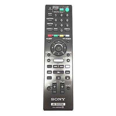 Genuine Sony HBD-E2100 Blu-Ray Home Cinema Remote Control HBDE2100 BDV-