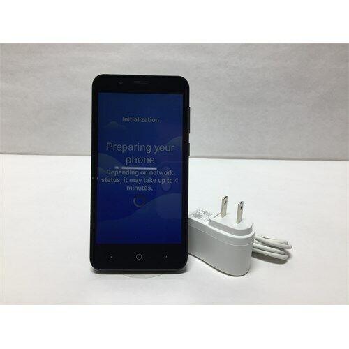 Tracfone Prepaid ZTE ZFive C LTE (16GB) Smartphone - Black