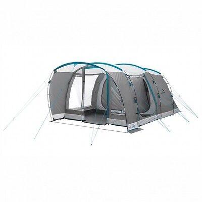 easy camp Palmdale 500 grey - Familienzelt Campingzelt bis zu 5 Personen