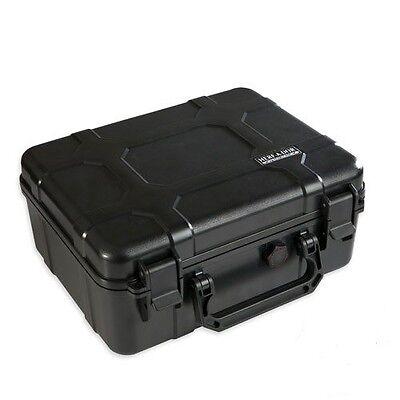 Herf-A-Dor Cigar Caddy X40 Cigar Travel Humidor 40 Cigar Capacity ~ NEW ~