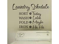 Washing and Ironing service