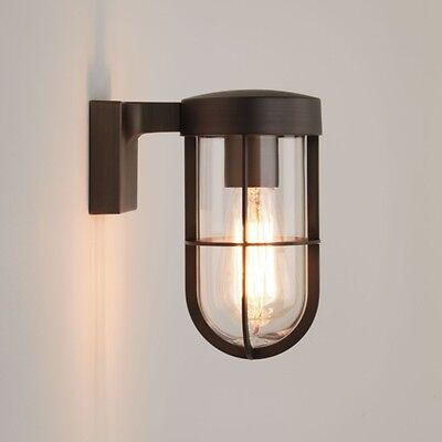 Astro 7847 Cabin Outdoor Wall Light Bronze Plated IP44