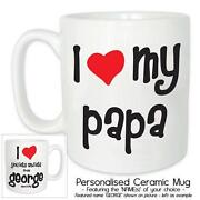 I Love Mug Personalised