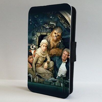 Chewbacca Hans Solo Star Wars FLIP PHONE CASE COVER for IPHONE SAMSUNG