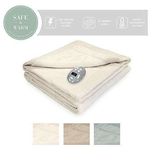 SoftHeat by Perfect Fit | Luxurious Velvet Plush Heated Elec