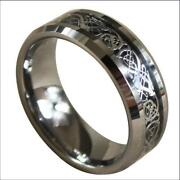 Tungsten Celtic Ring