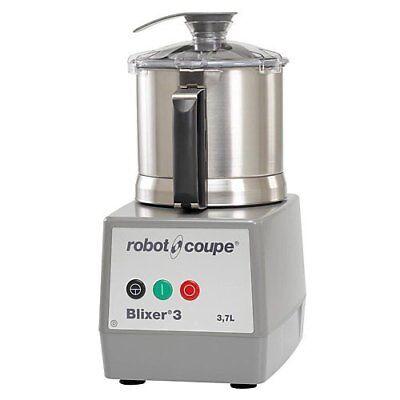Robot Coupe Blixer 3 Blixer 3.5 Quart Vertical Cutter Mixer W Stainless Bowl