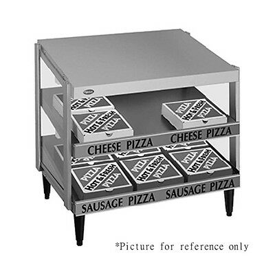 Hatco Grpws-2424d Countertop Pass-thru Pizza Warmer With Double Slanted Shelves