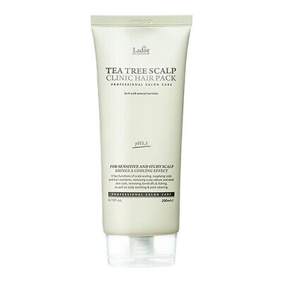 [Lador] Tea Tree Scalp Clinic Hair Pack 200g