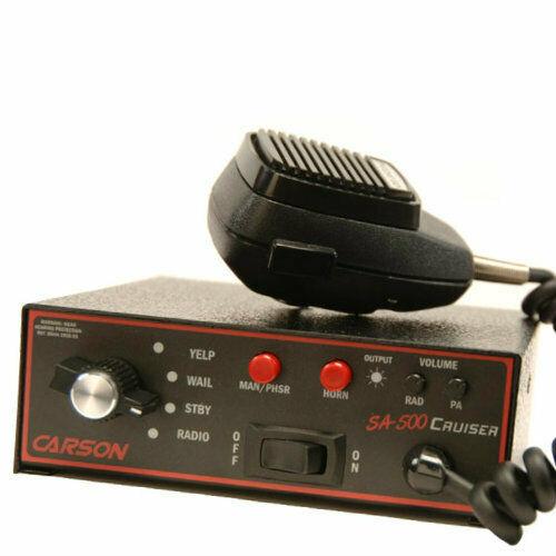Carson Mfg. Cruiser Siren 100-200W #SA-500-20 14