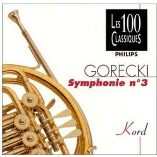 Kazimierz Kord - Gorecki-Symphonie N 3 [New CD] France - Import