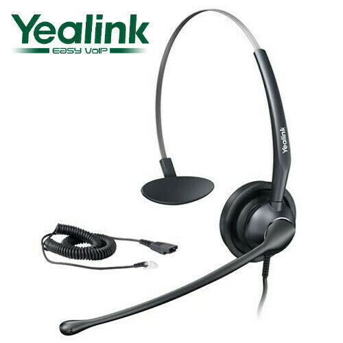 Yealink Wideband Headband Headset for Yealink IP Phones YHS33