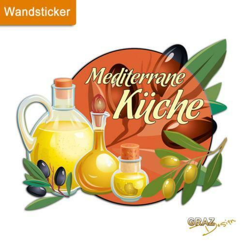 Wandtattoo mediterran dekoration ebay - Mediterrane wandbilder ...