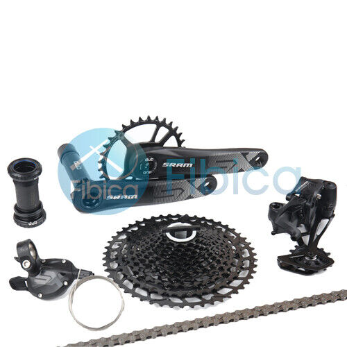 New 2021 SRAM SX Eagle DUB Groupset Group 12-speed 34t 170/175mm 11-50t