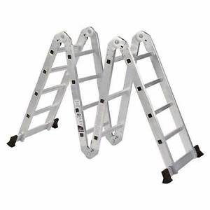 5.8m Multi Purpose Folding Aluminum Ladder Jandakot Cockburn Area Preview