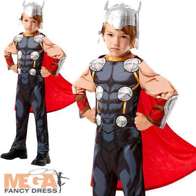 Thor Infinity War Boys Fancy Dress Superhero Avengers Day Kids Childrens - Thor Kostüm Boy
