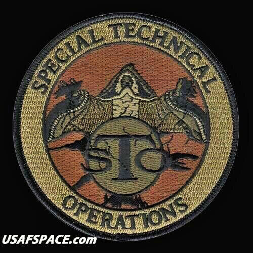 USAF SPECIAL TECHNICAL OPERATIONS- STO -DOD- Offutt AFB ORIGINAL OCP VEL PATCH