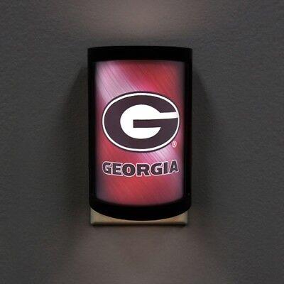 Georgia Bulldogs Night Light LED Light Plug In USA SHIPPER Georgia Bulldogs Red Light